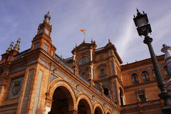 Plaza de España. Sevilla Stockbild