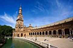 Plaza de España in Sevilla, Spain Royalty Free Stock Photos
