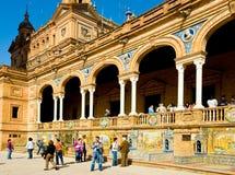 The Plaza de España Royalty Free Stock Images