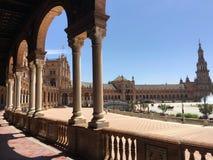 Plaza de España Royalty Free Stock Photo