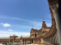 Plaza de España Stock Image