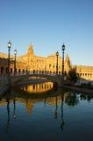 Plaza de Espa�a, Σεβίλη, Ισπανία Στοκ Φωτογραφίες