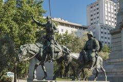 plaza de espa Μαδρίτη Στοκ Φωτογραφία
