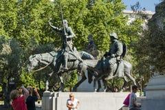 plaza de espa Μαδρίτη Στοκ Εικόνα