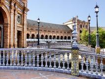 Plaza de España Stock Photography