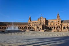 plaza de espa Στοκ φωτογραφία με δικαίωμα ελεύθερης χρήσης