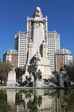Plaza de España in Madrid Royalty Free Stock Photo