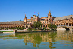 Plaza de Espa?a, Seville, Spain Royalty Free Stock Photo