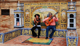 Plaza de España Royalty Free Stock Image