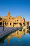 Plaza de Espa?a, Seville, Spain Stock Photos
