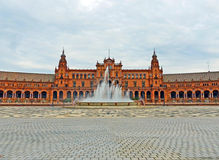 Plaza de España in Seville, Spain Royalty Free Stock Images