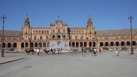 Plaza de Espagna stock video