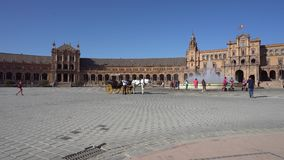 Plaza de Espagna stock video footage