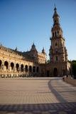 Plaza de Espana, Δημαρχείο στη Σεβίλη, Ισπανία, Ευρώπη Στοκ φωτογραφίες με δικαίωμα ελεύθερης χρήσης