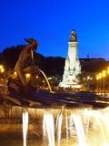 Plaza de Espana, Μαδρίτη Στοκ εικόνα με δικαίωμα ελεύθερης χρήσης