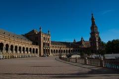 Plaza de Espana, Σεβίλη, Ισπανία Στοκ εικόνες με δικαίωμα ελεύθερης χρήσης