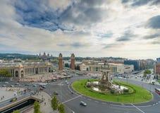 Plaza de Espana στη Βαρκελώνη Στοκ φωτογραφίες με δικαίωμα ελεύθερης χρήσης