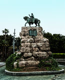Plaza de Espana στη Πάλμα ντε Μαγιόρκα, Ισπανία Στοκ Εικόνα