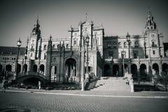 Plaza de espana στη Σεβίλη, Ισπανία, Ευρώπη Στοκ φωτογραφία με δικαίωμα ελεύθερης χρήσης
