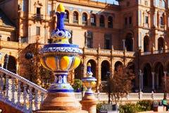 Plaza de Espana στη Σεβίλη Ισπανία Στοκ Εικόνες