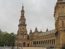 Plaza de Espana στη Σεβίλη Στοκ Εικόνα