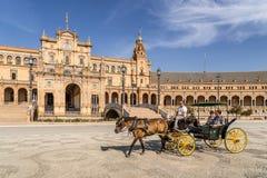 Plaza de Espana Photo stock