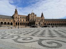 Plaza de Espana Photo stock