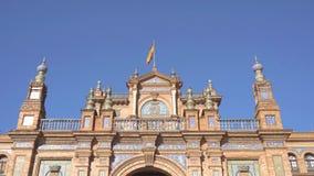 Plaza de Espana απόθεμα βίντεο