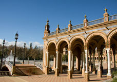 Plaza de Espana Royalty Free Stock Images