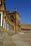 Plaza de Espana. In Seville - Spain Stock Images