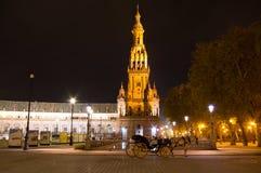 Plaza de Espana Stockbild