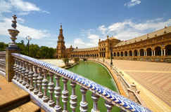 Plaza de Espana. In Seville, Andalucia, Spain Stock Photo