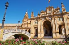 Plaza de Espana Photos libres de droits