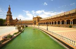 Plaza de Espana Stock Photos