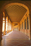 Plaza de Espana. In Seville, Andalucia, Spain Royalty Free Stock Photography