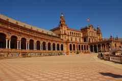 Plaza de espana Royalty Free Stock Photography