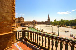 Plaza de Espana. In Seville, Andalucia, Spain Royalty Free Stock Image