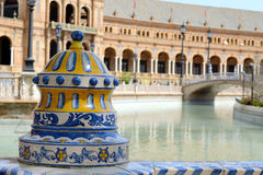 Plaza de Espana Royalty Free Stock Photo