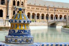 Plaza de Espana. In Seville, Spain Royalty Free Stock Photo