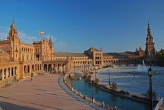 Plaza de Espana Royaltyfri Bild