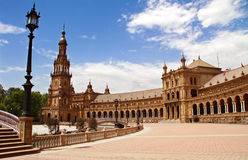 Plaza de Espana. In Seville, Andalucia, Spain Royalty Free Stock Photos