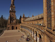 Plaza de Espana Fotografía de archivo libre de regalías