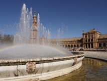Plaza de Espana Stockfotos