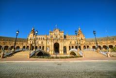 Plaza de Espana, ??? ??????, ??????? Στοκ φωτογραφία με δικαίωμα ελεύθερης χρήσης