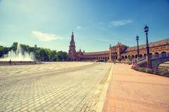 Plaza de Espana, ??? ??????, ??????? Στοκ εικόνα με δικαίωμα ελεύθερης χρήσης