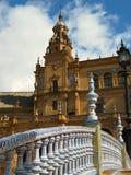Plaza DE Espana Royalty-vrije Stock Fotografie