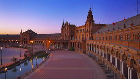 Plaza de Espana video d archivio