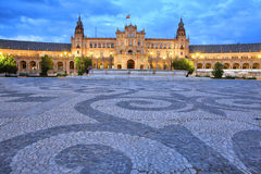 Plaza De Espana Stock Photography