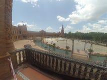 Plaza de Espana Fotografia de Stock Royalty Free