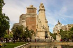 Plaza de Espana Στοκ Εικόνα
